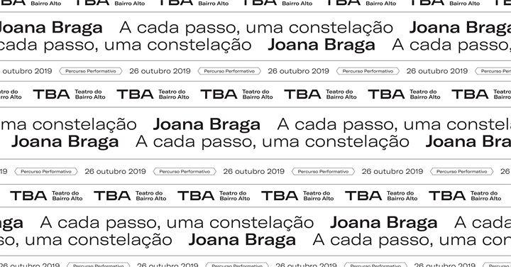 NOVA DATA A cada passo, uma constelação de Joana Braga