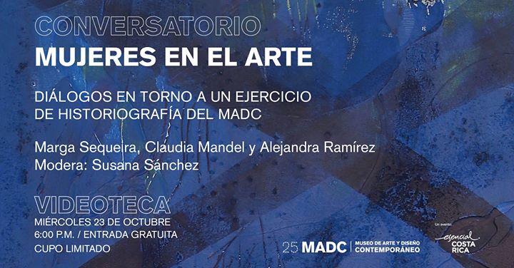 Conversatorio Mujeres en el arte