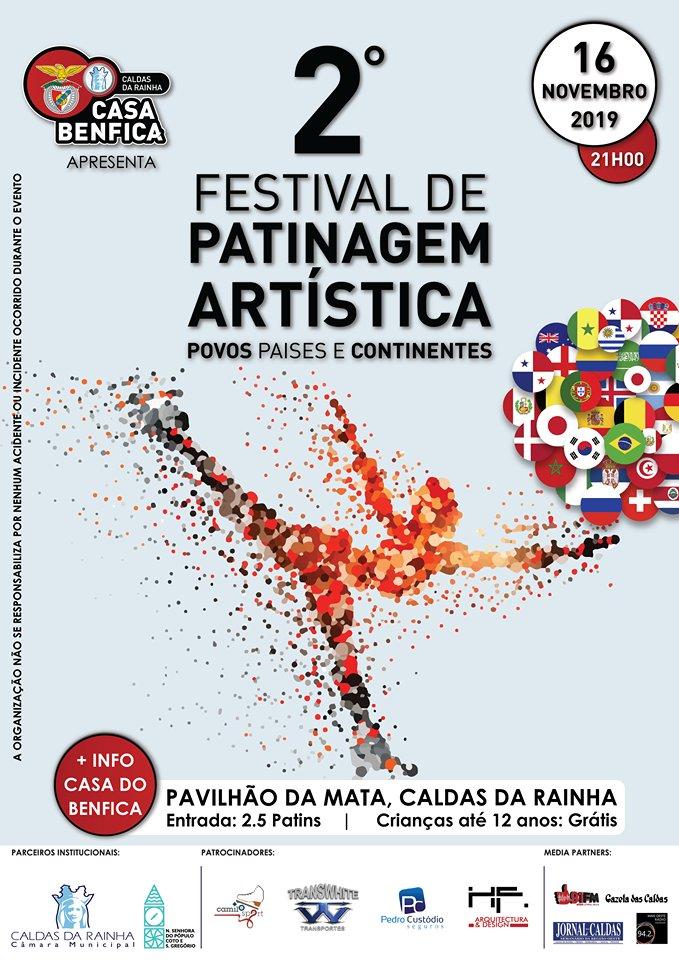 2º Festival de Patinagem Artística Da Casa do Benfica das Caldas da Rainha