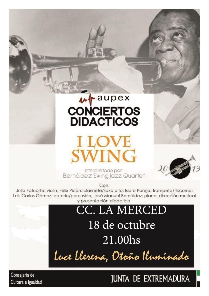 I love Swing. Luce Llerena, Otoño Iluminado