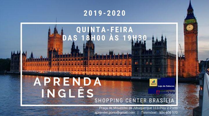 Aulas de Inglês 2019 | 2020 Inscreva-se