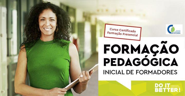Formação Pedagógica Inicial de Formadores - Presencial
