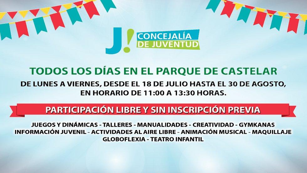 Actividades en Parque de Castelar - Vive el verano en Badajoz 2019