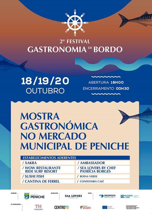 2º Festival Gastronomia de Bordo
