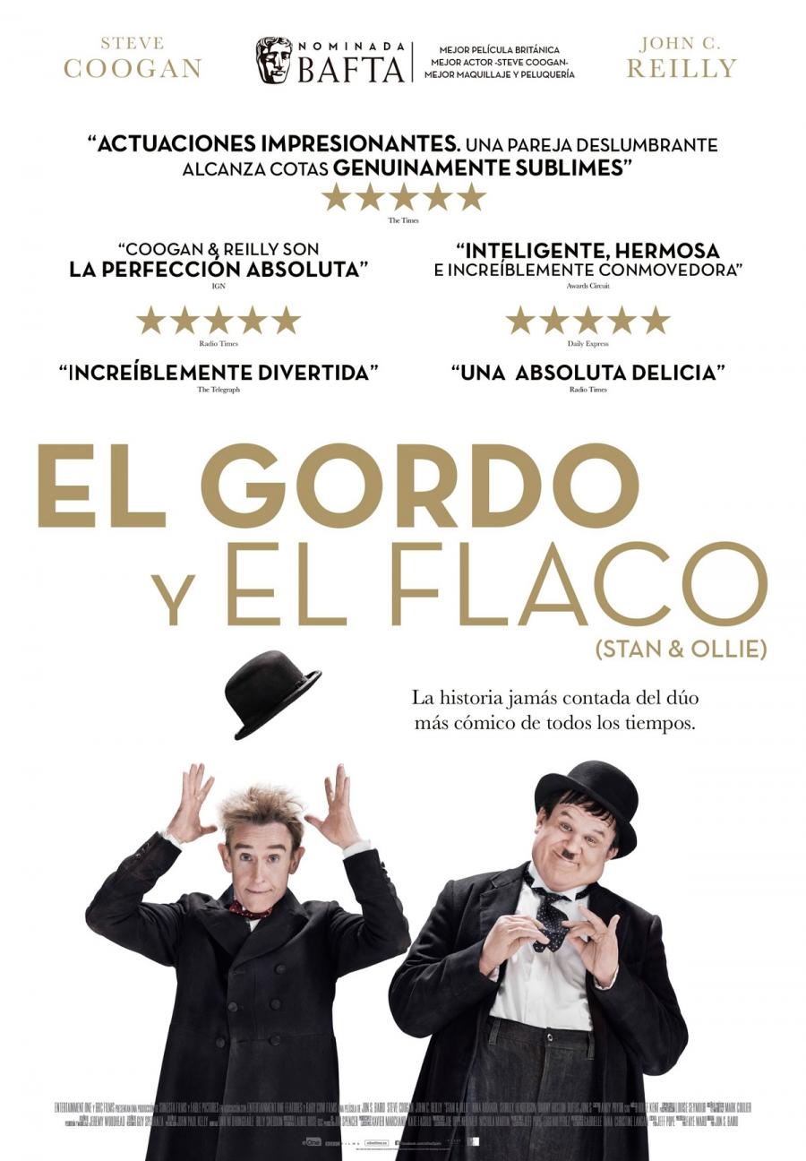 """XXXI Ciclo de Cine V.O.S.E.: """"El Gordo y el Flaco (Stan & Ollie)"""""""