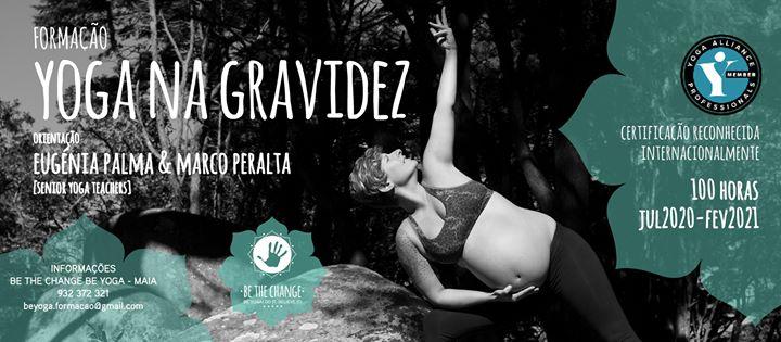 Curso de Formação de Yoga na Gravidez - 100H