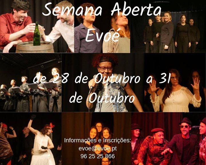 Aulas Gratuitas: Teatro, Contadores de Histórias, Clown, Canto