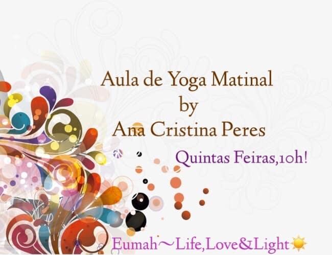 Aula Aberta Matinal de Yoga