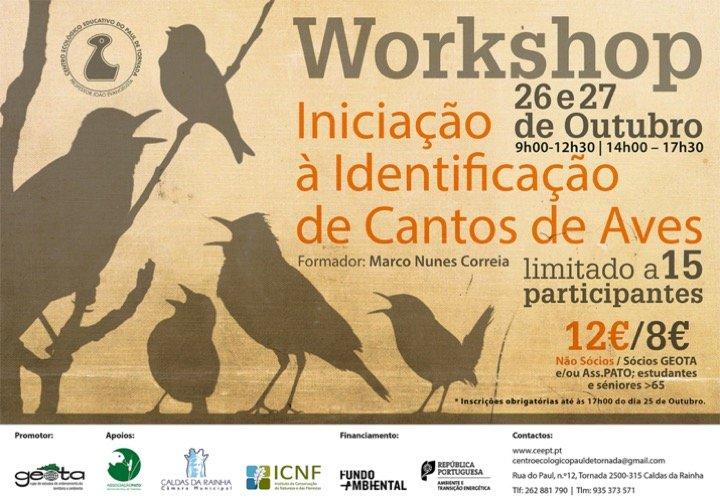 Workshop de Iniciação à Identificação de Cantos de Aves