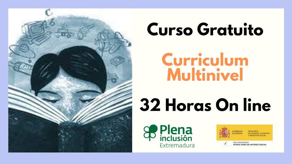 Curso gratuito Curriculum Multinivel - Plena Inclusión Extremadura ******* COPY  *******