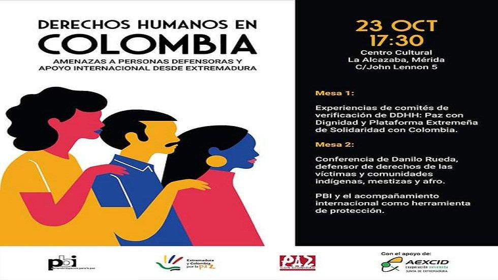 Jornada DDHH en Colombia - MÉRIDA
