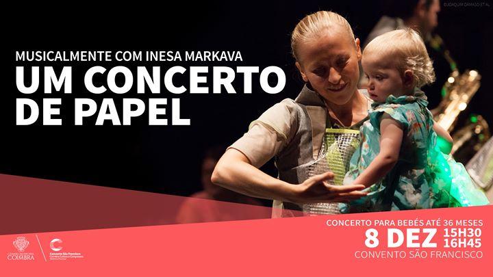 Um Concerto de Papel - Concerto para bebés