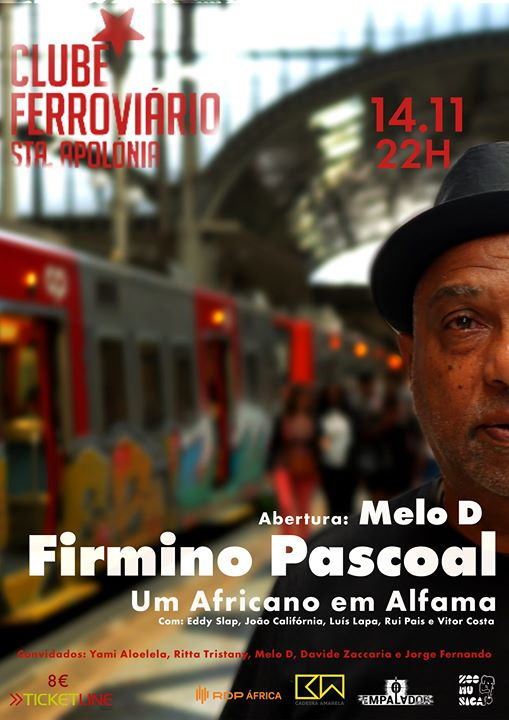 Firmino Pascoal + Melo D | Ferroviário (Lisboa)