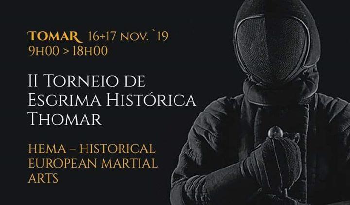 II Torneio Esgrima Histórica Thomar
