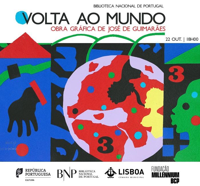 Volta ao mundo | Obra gráfica de José de Guimarães