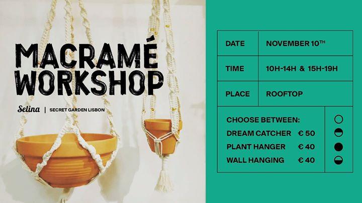 Macramé Workshop with - Macra-home&macramé lifestyle