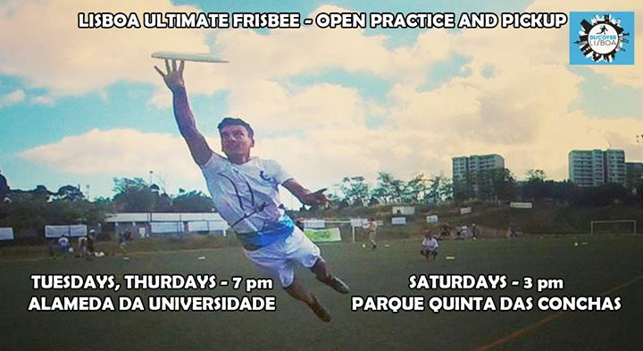 Lisbon Ultimate Frisbee * 16th Practice (2019/20)