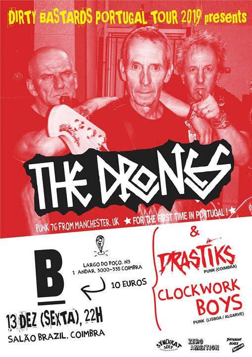The Drones: Dirty Bastards Portugal Tour 2019 (Coimbra)