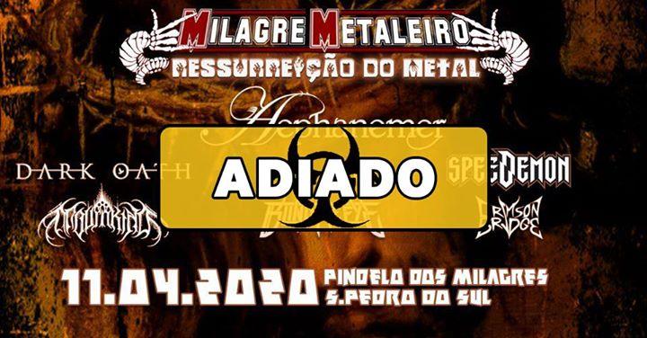 Adiado * Ressurreição do Metal 2020