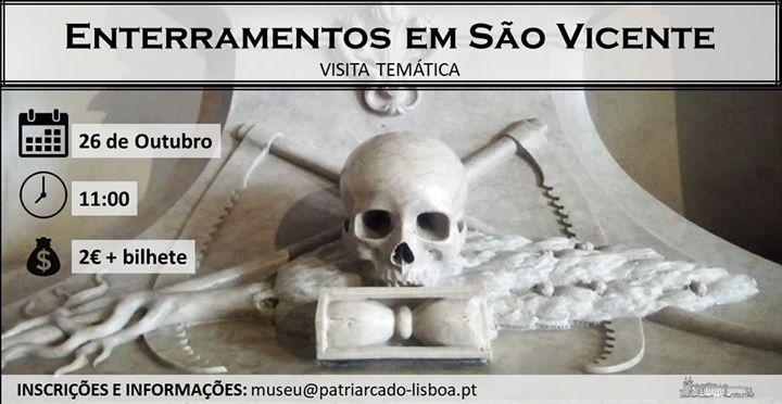 Visita Guiada: Enterramentos em São Vicente