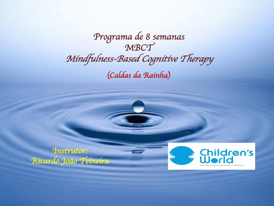NOVA EDIÇÃO MBCT (Mindfulness-Based Cognitive Therapy)