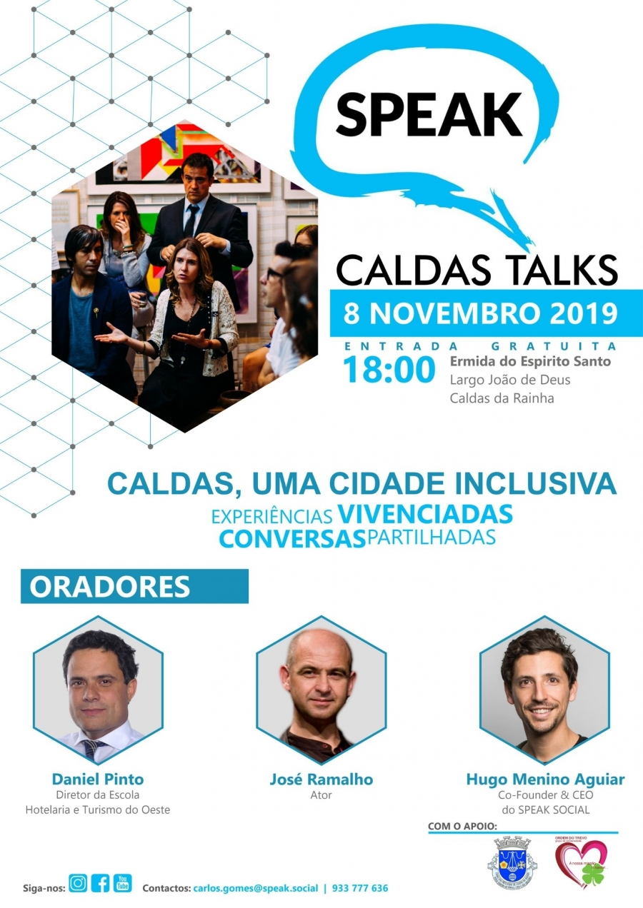 SPEAK Caldas Talks