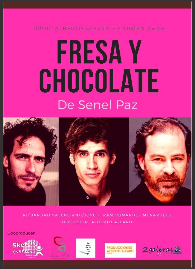 "Teatro: ""Fresa y chocolate"""