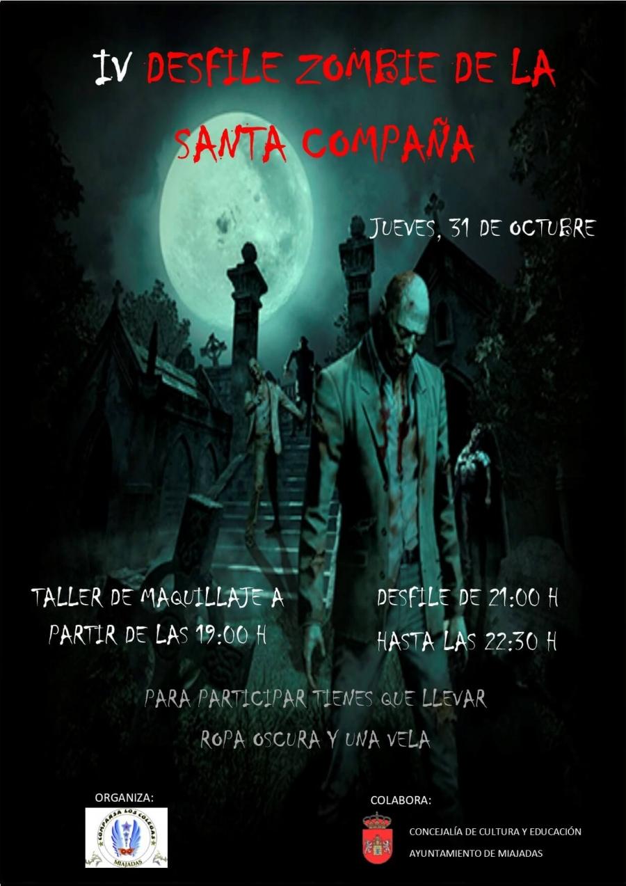 IV Desfile Zombie de la Santa Compaña