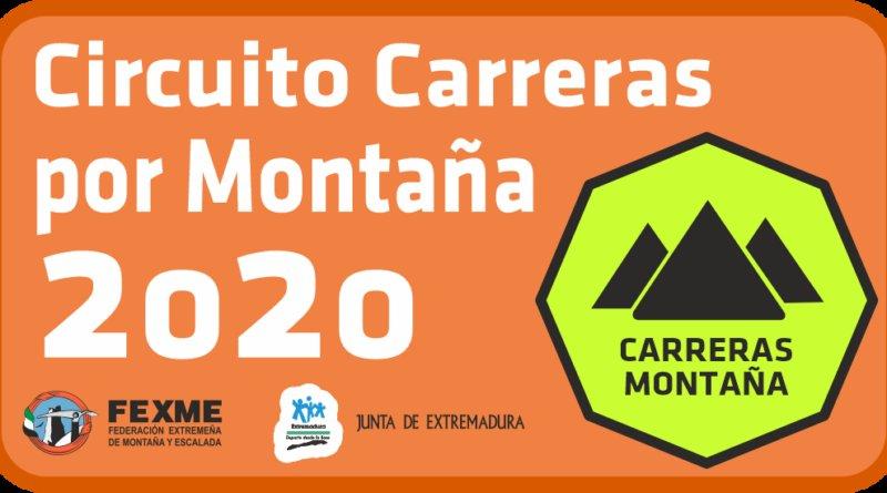 ABIERTO PLAZO CIRCUITO DE CARRERAS POR MONTAÑA 2020