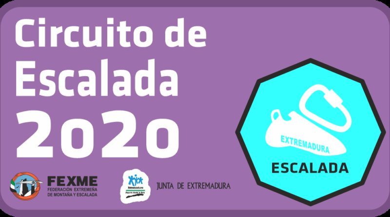 Abierta Convocatoria Circuito de Escalada 2020
