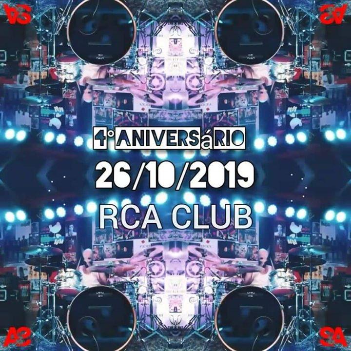 Sérgio & Animais 4Aniversário @RCA Club 26 Out 2019