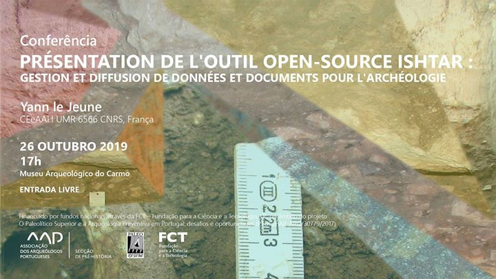 Conferência - Présentation de l'outil open-source Ishtar