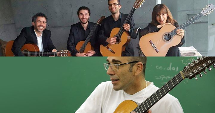 Quarteto de Guitarras de Viseu / Ivan Vilela (Brasil)