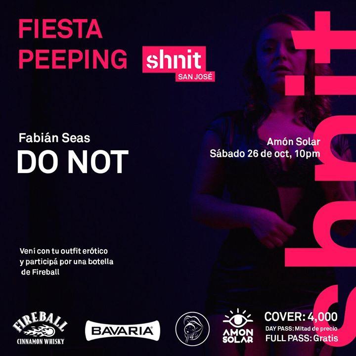 Fiesta Peeping shnit