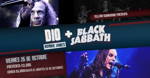 Ronnie James Dio + Black Sabbath