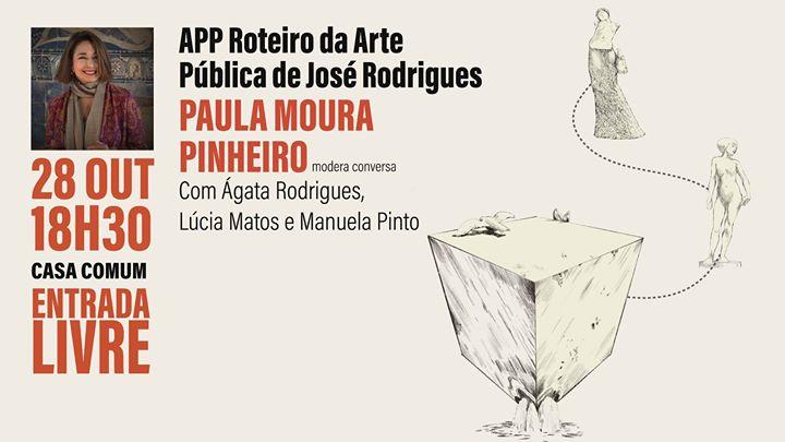 APP Roteiro da Arte Pública de José Rodrigues