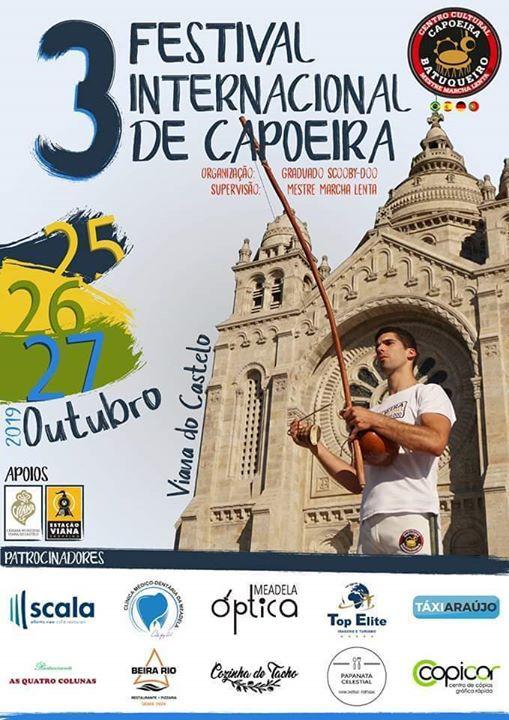 3° Festival Internacional Capoeira Batuqueiro Viana do Castelo