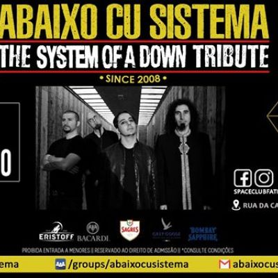 Abaixo Cu Sistema The System Of A Down Tribute 13 DEZ Space Club