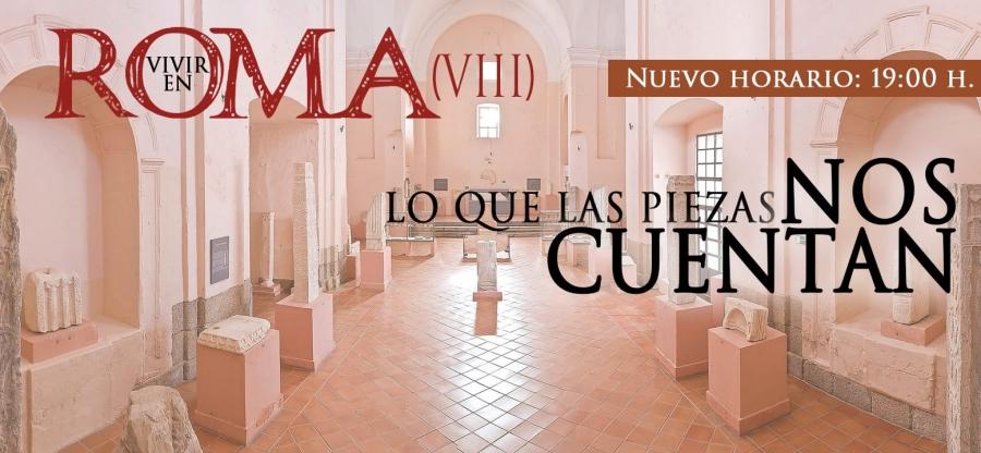 """Ciclo de conferencias Vivir en Roma VIII: """"Del escudo de Mérida y otras labras de interés"""""""