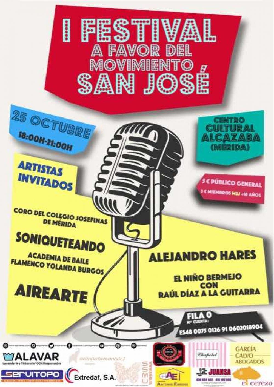 I Festival a favor del Movimiento San José