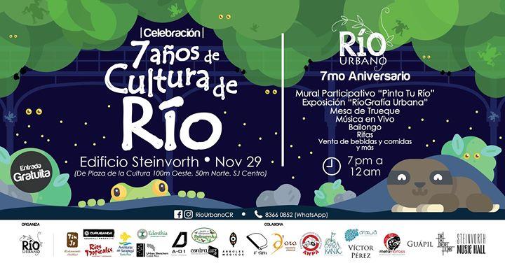 Celebración '7 Años de Cultura de Río'