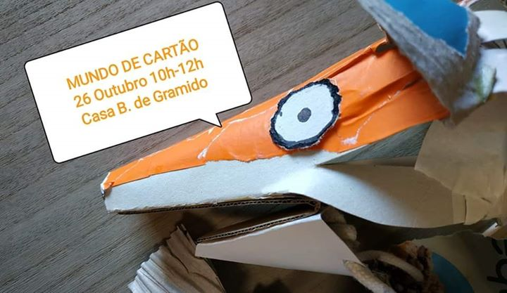 Oficina de Marionetas 'Mundo de Cartão'