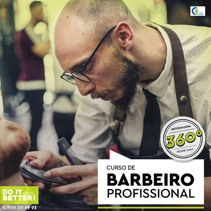 Curso Barbeiro Profissional - Alverca