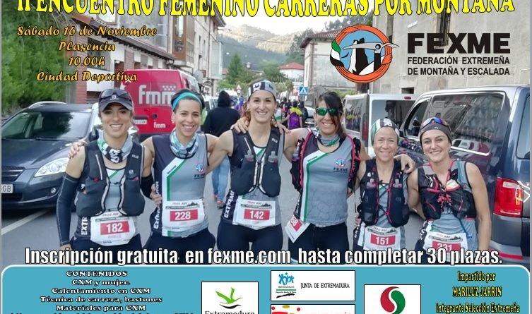 II Encuentro Femenino de Carreras por Montaña