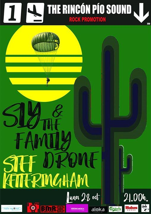 Sly & The Family Drone + Stef Ketteringham