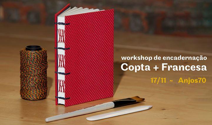 Workshop de Encadernação - Costura Copta + Francesa