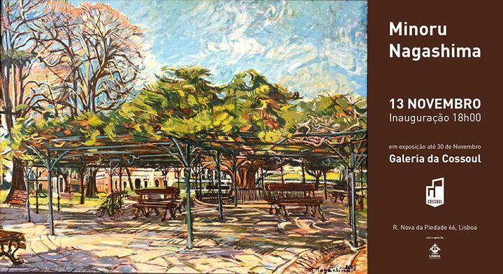 Minoru Nagashima – Inauguração da exposição
