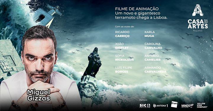 Miguel Gizzas | Cine Concerto 'O Dia em que o Mar Voltou'
