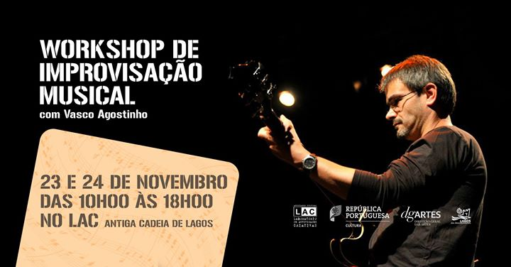 Workshop de Improvisação Musical, com Vasco Agostinho