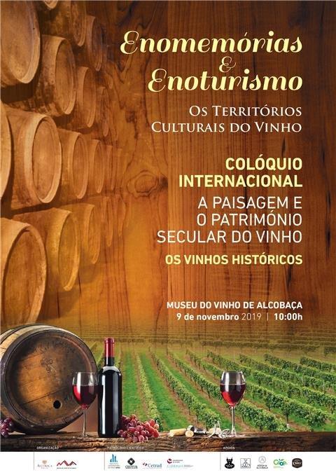 Colóquio internacional dedicado ao Enoturismo regressa ao Museu do Vinho de Alcobaça a 9 de novembro